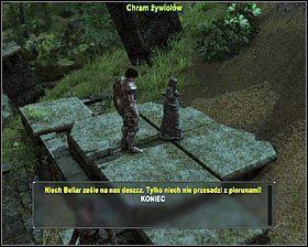 Po wygranym pojedynku podejdź do znajdującego się chramu żywiołów #1 - Bagna (2) - Zadania główne - Arcania: Gothic 4 - poradnik do gry