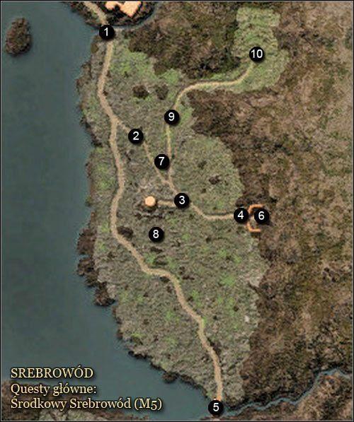 1 - Srebrow�d - Mapy - Zadania g��wne - Arcania: Gothic 4 - poradnik do gry