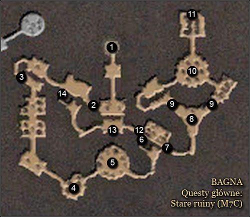 1 - Bagna - Mapy - Zadania g��wne - Arcania: Gothic 4 - poradnik do gry