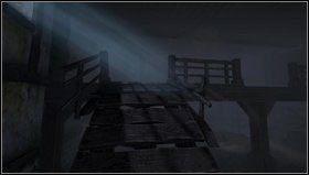 Żeby wspiąć się na schody [1] musimy stworzyć kładkę - Laboratory - Opis przejścia - Amnesia: Mroczny Obłęd - poradnik do gry