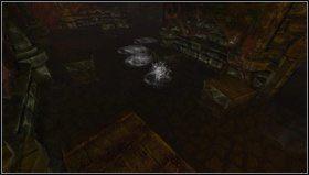 W zalanych piwnicach musimy uwa�a� na niewidzialnych przeciwnik�w, kt�rzy chodz� tylko w wodzie - Cellar Archives - Opis przej�cia - Amnesia: Mroczny Ob��d - poradnik do gry