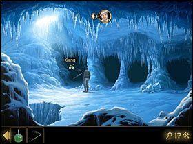 Jako Fenton zapuść się w któreś z wiodących z jaskini przejść - Rozdział II - Sekret w górach (2) - Opis przejścia - Lost Horizon - poradnik do gry