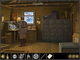 Kiedy Niemiec odejdzie, otwórz kluczami drzwi baraku po lewej - Rozdział II - Sekret w górach (3) - Opis przejścia - Lost Horizon - poradnik do gry