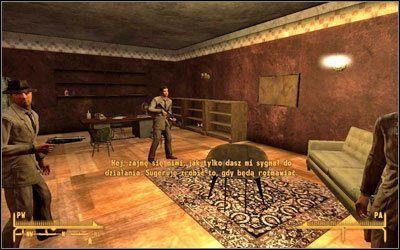Zarówno Ty jak i Cachino zostaniecie wezwani do szefów - Jak mało wiemy   Zadania poboczne - Fallout: New Vegas - poradnik do gry