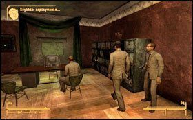 Postanowisz zachować pamiętnik - udaj się na balkon do Wielkiego Sala (bądź Nero ) (M7F:5) #1 , przy drzwiach (M7F:4) natrafisz na strażnika - Jak mało wiemy | Zadania poboczne - Fallout: New Vegas - poradnik do gry