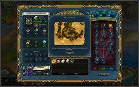 Podgląd mapy - Szkarłatny wiatr - Zadania - Kings Bounty: Nowe Światy - poradnik do gry