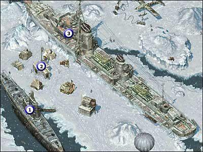 1 - Łódź podwodna (2 fragmenty) - Misja 03 - Commandos 2: Ludzie odwagi - poradnik do gry