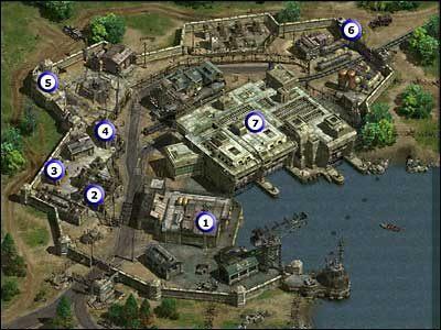 1 - Budynek, w którym spotkałeś Natashę w pierwszej misji (1 fragment) - Misja 02 - Commandos 2: Ludzie odwagi - poradnik do gry