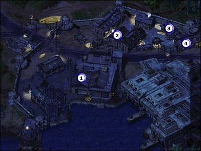 1 - Budynek, w którym przebywa Natasha (1 fragment) - Misja 01 - Commandos 2: Ludzie odwagi - poradnik do gry