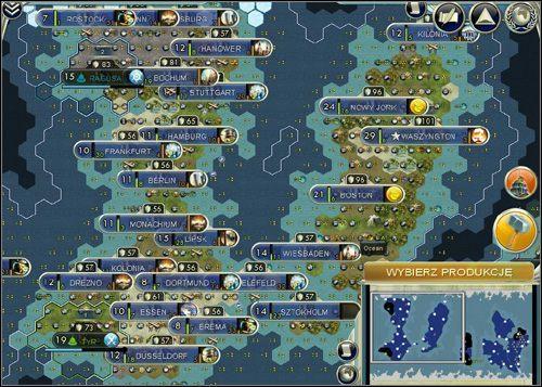 Tworz�c imperium, zadbajmy o odpowiednie proporcje mi�dzy surowcami - Z�oto, produkcja, �ywno�� - Podstawy - Sid Meiers Civilization V - poradnik do gry