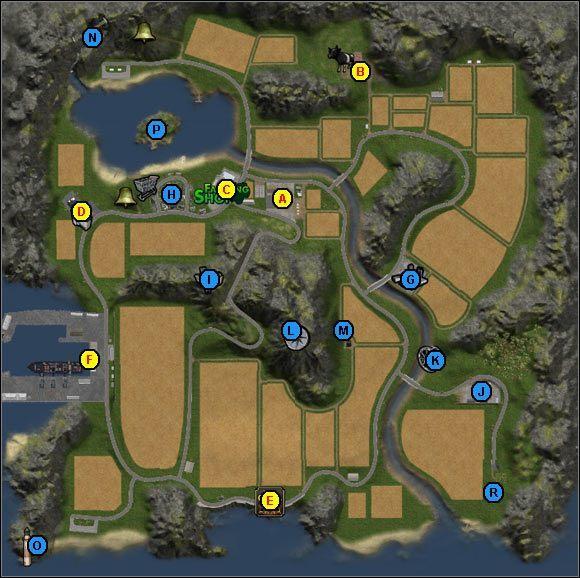 Otoczenie gry - Elementy gry - Symulator Farmy 2011 - poradnik do gry