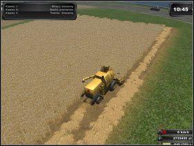 Uprawa pola pod zboże