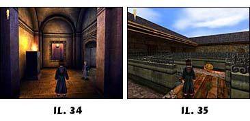 Wdrapujesz się na górę skacząc na platformy na przeciwległych ścianach - Solucja cz.4 - Harry Potter i Kamień Filozoficzny - poradnik do gry