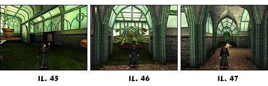 Musisz się koło niej przemknąć, aby dotrzeć do przełącznika - Solucja cz.6 - Harry Potter i Kamień Filozoficzny - poradnik do gry