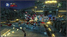 Zacznij od ostrzelania przeciwników stojących na podwyższeniu [1] - Generał Grievous (6) - Tryb fabularny - LEGO Star Wars III: The Clone Wars - poradnik do gry
