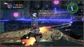 Po bitwie, w kolejnej sekwencji użyj mocy, aby zbudować z klocków platformę [1] - Generał Grievous (7) - Tryb fabularny - LEGO Star Wars III: The Clone Wars - poradnik do gry