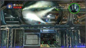 Następnie strzel w żółty klocek z prawej [1] - Generał Grievous (7) - Tryb fabularny - LEGO Star Wars III: The Clone Wars - poradnik do gry