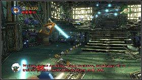 Po uczynieniu tego przejdź przez przejście [1] - Asajj Ventress (1) - Tryb fabularny - LEGO Star Wars III: The Clone Wars - poradnik do gry