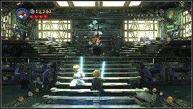 Wtedy wróg zacznie rzucać w ciebie różnymi przedmiotami [1] - Asajj Ventress (1) - Tryb fabularny - LEGO Star Wars III: The Clone Wars - poradnik do gry