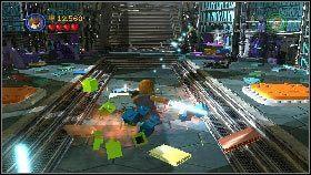 Kiedy przeciwniczka ucieknie użyj miecza, aby stworzyć w drzwiach dziurę [1] - Asajj Ventress (1) - Tryb fabularny - LEGO Star Wars III: The Clone Wars - poradnik do gry