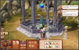 W późniejszej części misji trafimy na wybór - Kupiec będzie mógł zaufać nieznajomemu z cmentarza (potężny sojusznik) lub zerwać z nim kontakty (to nie jest ktoś, z kim należy się zadawać) - Bezsenność w Chrapkowicach - Misje - The Sims: Średniowiecze - poradnik do gry