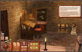 W tym zadaniu otrzymamy dziwną księgę i podejmiemy się jej tłumaczenia - Chcemy Ksiąg, Nie Wojny; Czas Wolny; Czeladnik Kowala - Misje - The Sims: Średniowiecze - poradnik do gry