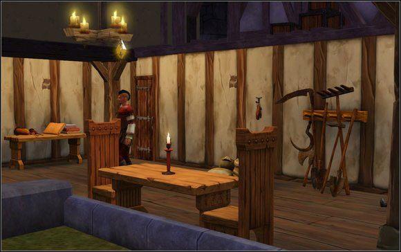 Koszt: 0 PM - Chcemy Ksiąg, Nie Wojny; Czas Wolny; Czeladnik Kowala - Misje - The Sims: Średniowiecze - poradnik do gry
