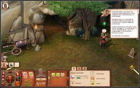 Później szukamy przedmiotu koło stawu - Dzień Bibelotów - Misje - The Sims: Średniowiecze - poradnik do gry