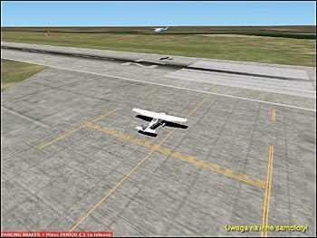 Uwaga na inne samoloty - Start (2) - Lot - Microsoft Flight Simulator 2002 Professional Edition - poradnik do gry