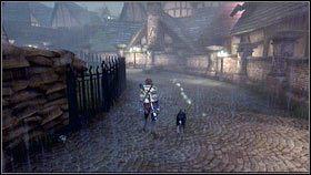 Kawałek dalej jest dom, do którego możemy wejść - Bitwa o Albion - Opis przejścia - Fable III - PC - poradnik do gry
