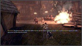 Gdy dotrzemy do zamkniętej bramy, obchodzimy ją dookoła z prawej strony [1] - Bitwa o Albion - Opis przejścia - Fable III - PC - poradnik do gry