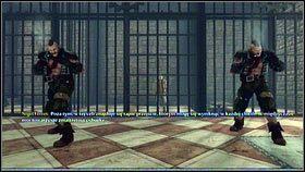 Pokonawszy kilku kolejnych zbirów, dojdziemy do korytarza z celami - Ciężar świata - Opis przejścia - Fable III - PC - poradnik do gry