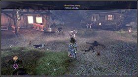 Po pokonaniu znajdujących się tam wilkołaków [1], rozpocznie się walka z ich przywódcą [2] - Ciężar świata - Opis przejścia - Fable III - PC - poradnik do gry
