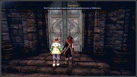 Chwytamy Saula za rękę [1] i ruszamy z nim do Relikwiarza - Wioska Brightwall - Zadania poboczne - Fable III - PC - poradnik do gry