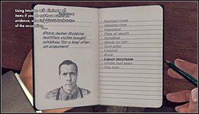 Jako że mężczyzna będzie się upierał, że nic nie pamięta z zeszłej nocy, zarzuć mu kłamstwo poprzez wciśnięcie przycisku Y (Lie) #1 - Case 12 - The Studio Secretary Murder (4) - Główne śledztwa - L.A. Noire - poradnik do gry