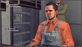 Ostatnie pytanie to Access to murder weapon (Dostęp do narzędzia zbrodni) #1 - Case 12 - The Studio Secretary Murder (4) - Główne śledztwa - L.A. Noire - poradnik do gry