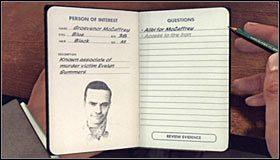 Udaj się do sali przesłuchań numer 2 #1, gdzie będzie już na Ciebie czekał Grosvenor McCaffrey - Case 12 - The Studio Secretary Murder (4) - Główne śledztwa - L.A. Noire - poradnik do gry