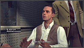 McCaffrey stwierdzi, że ktoś podłożył rzeczy do jego mieszkania - Case 12 - The Studio Secretary Murder (4) - Główne śledztwa - L.A. Noire - poradnik do gry