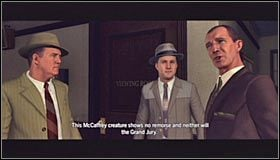Dopiero teraz musisz podjąć ostateczną decyzję w sprawie zakończenia śledztwa - Case 12 - The Studio Secretary Murder (4) - Główne śledztwa - L.A. Noire - poradnik do gry
