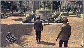 Opuść budynek komisariatu, wsiądź do radiowozu i użyj notatnika do zaplanowania podróży do lokacji [Pershing Square - Corner Fifth and Hill] #1 - Case 13 - The Quarter Moon Murders (1) - Główne śledztwa - L.A. Noire - poradnik do gry