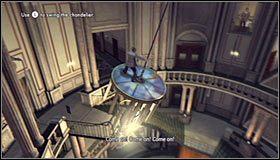 Żyrandol wkrótce zacznie się odrywać z sufitu, tak więc będziesz musiał szybko działać żeby ujść z życiem - Case 13 - The Quarter Moon Murders (1) - Główne śledztwa - L.A. Noire - poradnik do gry