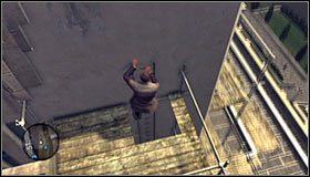 Kontynuuj wędrówkę do momentu dotarcia do nowej drabiny - Case 13 - The Quarter Moon Murders (2) - Główne śledztwa - L.A. Noire - poradnik do gry