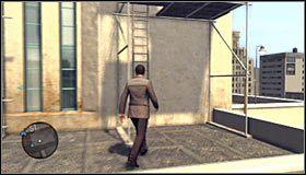 Po dotarciu do niższej części rusztowań udaj się w prawo, zeskakując na niżej położone półki #1 - Case 13 - The Quarter Moon Murders (2) - Główne śledztwa - L.A. Noire - poradnik do gry