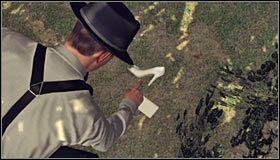 Warto oczywiście rozpocząć od obejrzenia kolejnego fragmentu poematu #1, który wyląduje oczywiście w Twoim notatniku (Clue - Fifth excerpt) - Case 13 - The Quarter Moon Murders (2) - Główne śledztwa - L.A. Noire - poradnik do gry