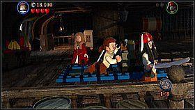8 - Czarna Perła atakuje - opis przejścia - Klątwa Czarnej Perły - LEGO Piraci z Karaibów - poradnik do gry