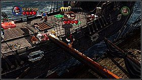 11 - Czarna Perła atakuje - opis przejścia - Klątwa Czarnej Perły - LEGO Piraci z Karaibów - poradnik do gry