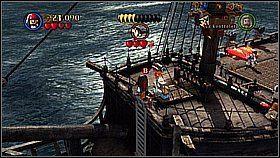 12 - Czarna Perła atakuje - opis przejścia - Klątwa Czarnej Perły - LEGO Piraci z Karaibów - poradnik do gry