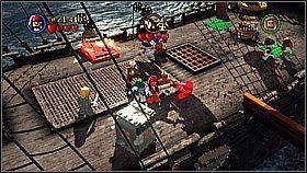 13 - Czarna Perła atakuje - opis przejścia - Klątwa Czarnej Perły - LEGO Piraci z Karaibów - poradnik do gry