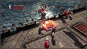 14 - Czarna Perła atakuje - opis przejścia - Klątwa Czarnej Perły - LEGO Piraci z Karaibów - poradnik do gry