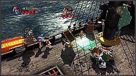 15 - Czarna Perła atakuje - opis przejścia - Klątwa Czarnej Perły - LEGO Piraci z Karaibów - poradnik do gry